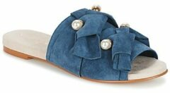 Blauwe Slippers KG by Kurt Geiger NAOMI-BLUE