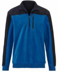 Blauwe Fleece trui BABISTA Royal blue