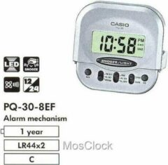 Zilveren Casio PQ 30-8 (109)