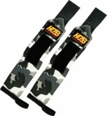 Hubb Fitness AA Products - Pro Wrist Wraps Voor Fitness Gym Sporten Heavy Weight - Unisex - One Size- Camo