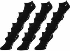 Zwarte Pierre Cardin Sneakersokken Multipack Unisex Enkelsokken 43-46