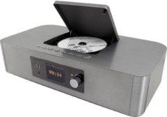 Soundmaster ICD2020 Radio/CD-speler met internetradio DAB+, FM AUX, Bluetooth, CD, WiFi, Internetradio Zilver