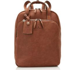 Bruine Castelijn & Beerens Castelijn en Beerens Carisma laptoprugtas 15,6 inch Cognac