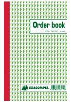 Exacompta Zelfkopiërend orderboek Wit Gelinieerd 135 x 210 mm 50 Vel
