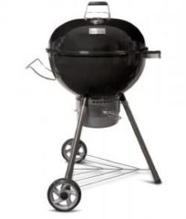 Zwarte Patton Kettle Chef 57 cm. - Houtskoolbarbecue - Multi Grill - Kettle barbecue - dia 57 cm.