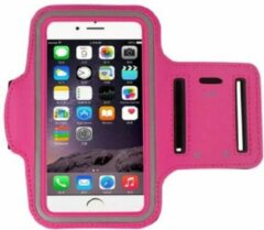 Go Go Gadget Sport Armband - Universeel - Verstelbaar - Hardlooparmband - Spatwaterdicht - Bescherming - Lichtgewicht - 85 x 165 mm (5,5 inch) - Donker Roze