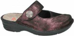 Bordeauxrode Berkemann -Dames - bordeaux - slippers & muiltjes - maat 38½