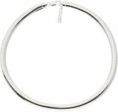 Zilveren omegacollier best basics Halfrond 8.0 mm 103.7040.43