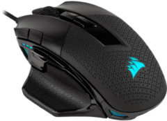 Corsair Gaming Nightsword RGB FPS/MOBA Gaming Muis - 18000 DPI - Zwart