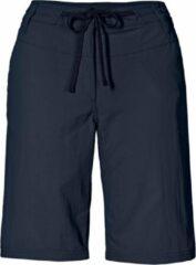 Jack Wolfskin Pomona Short Women - dames - korte broek - blauw - maat 40