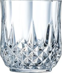 Transparante Eclat Longchamp Waterglas - 32 cl - Set-6