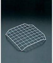 Licht-grijze Tomado - Metaltex Metaltex panonderzetter chroom set a 5st