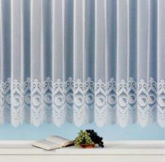 Sonstiges Jacquard Store Miriam mit Blumen Bordüre, weiß