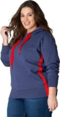 Blauwe Yesta Dames Sweater Maat EU48