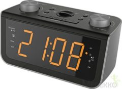 Soundmaster FM PLL-Clock Radio with Jumbo Display and automatically Clock adjustme (FUR5005)