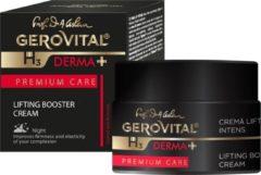 Lifting Booster Nacht Crème intens , Gerovital Derma+Premium Care. Hypoallergeen. Geen parabenen. Dermatologisch getest