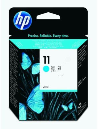 Afbeelding van HP inktcartridge 11, 2 350 pagina's, OEM C4836AE, cyaan