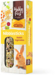 Hobbyfirst Hope Farms Nibblesticks Rabbit Vegetables - Konijnensnack - 90 g