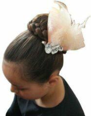 Jessidress Feestelijke haarclip met strass - Licht Roze
