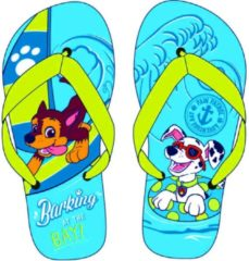 Slippers Paw Patrol Chase en Marshall Lichtblauw Maat 30/31