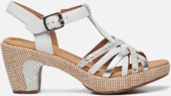 Gabor Dames Sandaletten - Wit - Maat 37.5