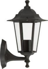 Ranex Ra-clas5000030 Wandlamp Zwart Aluminium Glas Classico