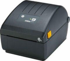 Zwarte Zebra ZD220, 8 dots/mm (203 dpi), peeler, EPLII, ZPLII, USB