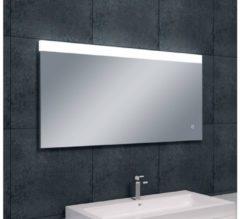 Saqu Shine Spiegel met LED 120x60 cm