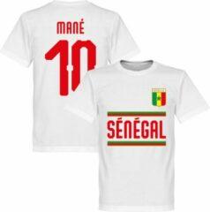 Witte Merkloos / Sans marque Senegal Mané 10 Team T-Shirt - XL
