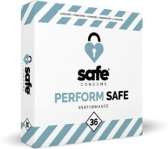 Transparante Safe condoms performance 36 st