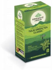 Organic India Tulsi groen thee bio 25 Stuks
