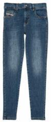 Diesel Kids Girl jeans skinny Blauw 00J4ZX KXB61 K01 Jeans Blauw