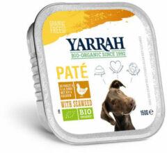 Yarrah Biologische Hondenvoer Pate - Glutenvrij - 150 gr
