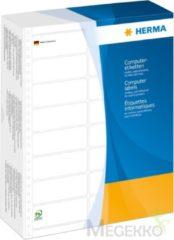Computeretiketten Herma 8269 eindloos 210,82x150,0 mm 1-banen wit met perforatie papier mat 1000 st.