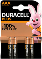 Duracell Ultra Power Batterijen - AAA Alkaline - LR03 / MINI STILO / MICRO / MX2400 - 4 Stuks