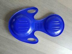 Merkloos / Sans marque Kinder Slee Koppelslee - Kleur Blauw Kunststof - 2 tot 8 jaar - 90 CM Groot