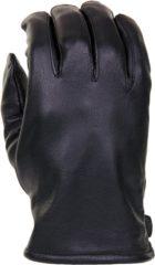 Zwarte Benscore Leren officiers handschoenen zwart maat M
