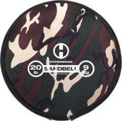 Hyperwear Camo SandBell 9 kg