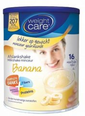 Weight Care Milkshake Maaltijdvervanger - Banaan - 436 gram