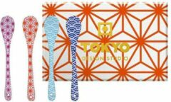 Tokyo Design Studio Star Wave lepelset - 13cm - 4 stuks