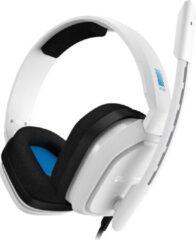 ASTRO Gaming ASTRO A10 Lichtgewicht Gaming Headset met ASTRO Audio en Dolby Atmos, schadebestendig - Wit/Blauw