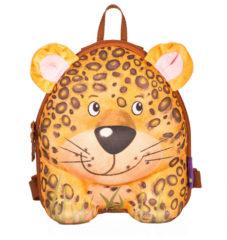 Bruine Okiedog Wildpack Rugzak Leopard