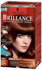 Schwarzkopf Brillance Haarverf - Intensiv Color Creme 892 Intense Red