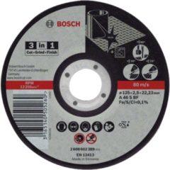 Bosch Power Tools 2 608 602 389 - 3-in-1 Scheibe 125 x 2,5mm 2 608 602 389