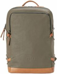 "Grijze Aunts & Uncles Kawaguchi Laptop Backpack 15"" fallen rock backpack"