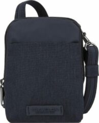 Travelon Metro Anti-diefstal Mini Crossbody Schoudertas 43417 Unisex Rfid Blauw