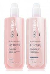 Cosmeticaset voor Dames Biosource Duo Biotherm (2 pcs) Droge huid