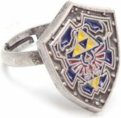 Blauwe Bioworld Europe The Legend of Zelda Ring - Unisex - Metaal - One-size