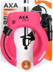 AXA Kettingslot Newton Promoto Zwart 130CM/10,5MM Neo 4 ART4 Middenroze