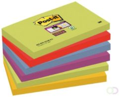 Memoblok 3M Post-it 655-SSMK Super Sticky 76x127mm Marrakesh